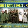 Tribina – Borci u ratu i borci u miru 29.04.2016 od 20:30